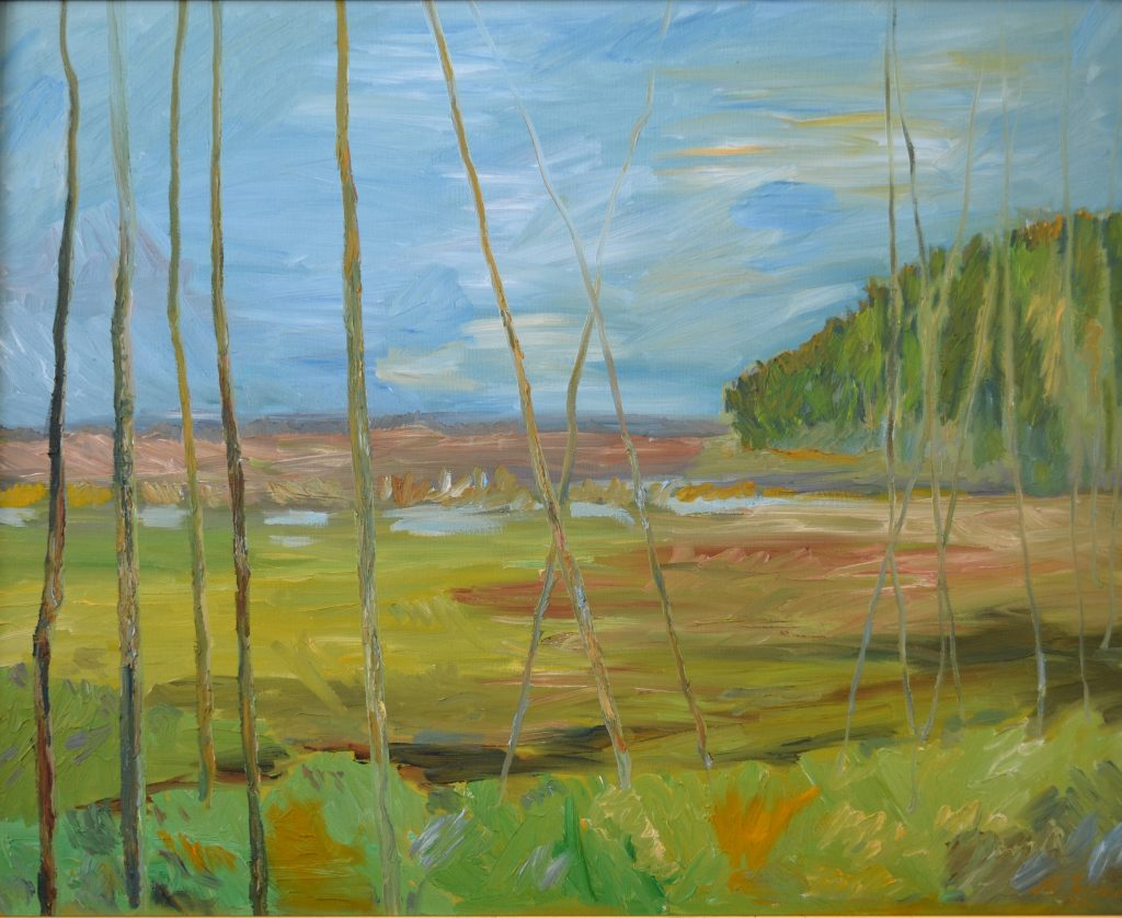 """Early Spring"" - Oil on Canvas - 24 X 30"""