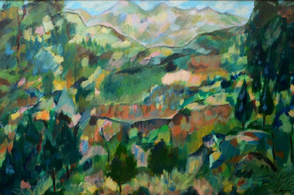 """Italian Countryside"" - Oil on Canvas - 36 x 24"""